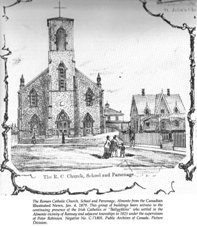 Holy Name of Mary in 1875
